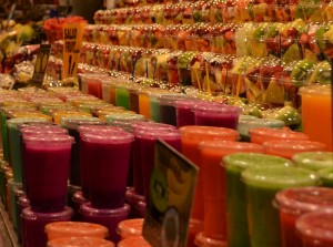 Smoothies in Barcelona