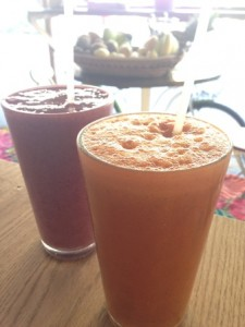Fresh juices - delicious and hydrating