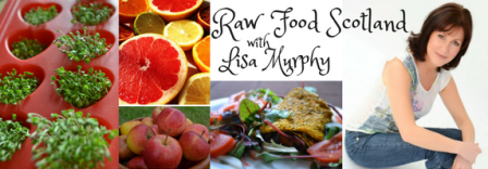Raw Food Coach Glasgow Lisa Murphy